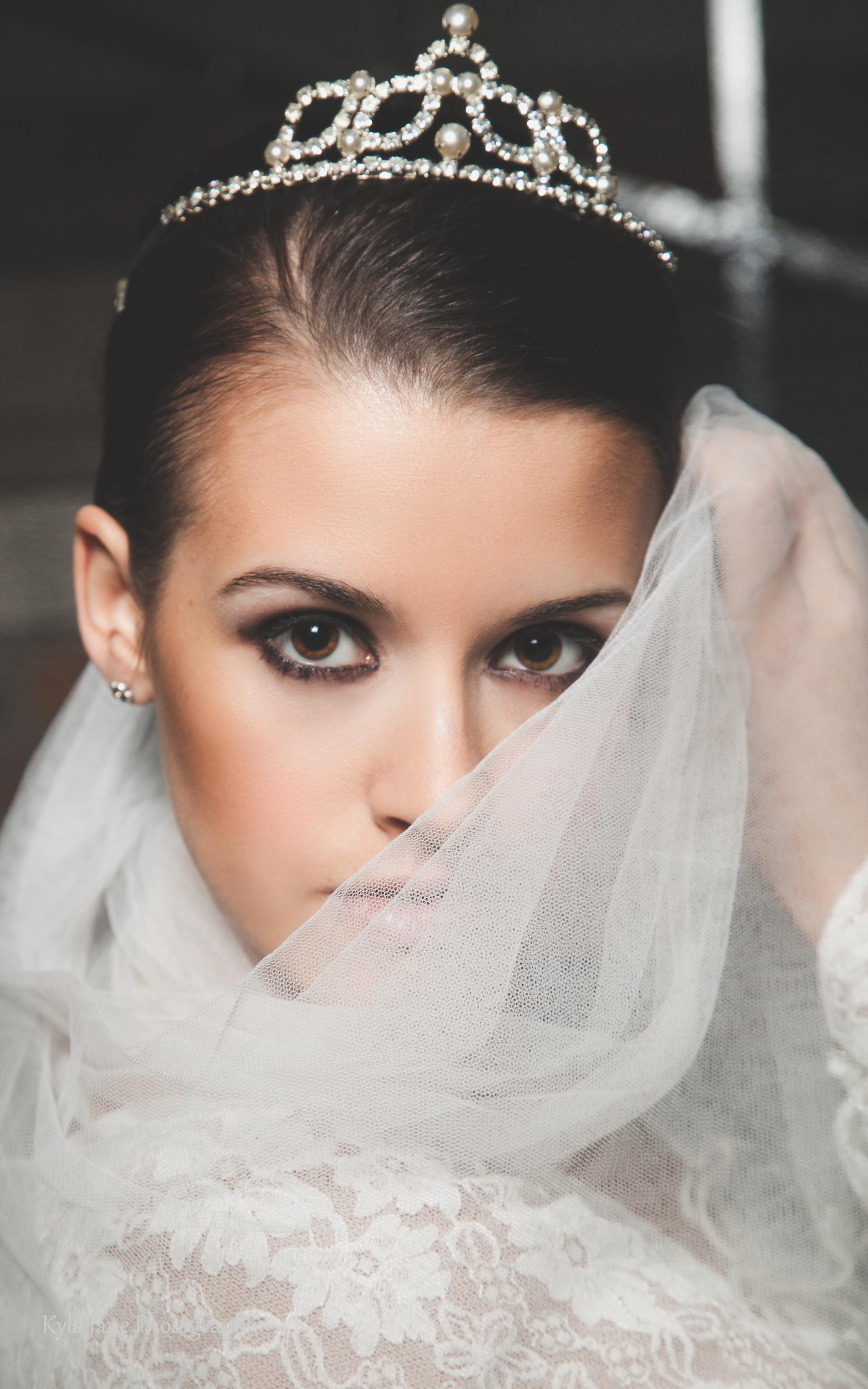 Original 1950\'s Pearl and Diamanté Crystal Tiara Bridal Wedding ...